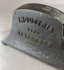 画像3: ★超 HEAVY DUTY !!★  1930-40's【INDUSTRIA】Iron Tape Dispenser (3)