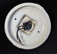 画像7: 1930-40's Art Deco Porcelain Bare Bulb Light (7)