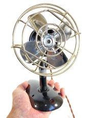 """画像2: """"Fully Restored""""  Early-1940's 【Century Lighting Inc. New York】 超-MINI Electric Fan (2)"""