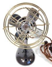 """画像5: """"Fully Restored""""  Early-1940's 【Century Lighting Inc. New York】 超-MINI Electric Fan (5)"""