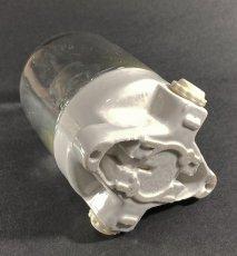 """画像4: 1940-50's German Glass&Porcelain Ceiling/Wall """"MINI"""" Light (4)"""
