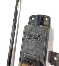 "画像4: 1900-20's【RUSSWIN】  ""Push Lever""  Door Latch Lock (4)"