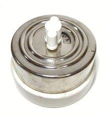 """画像3: """"ちょ〜特大!!""""  1920-30's【The Hart&Hegeman Mfg Co.】Porcelain Rotary Switch  【Dead Stock】 (3)"""