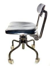 """画像6: Early-1930's   ★Sturgis Posture Chair Co.★   """"Machine age"""" Swivel Desk Chair   【超!! Mint Condition 】 (6)"""