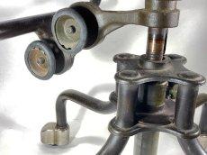 """画像13: Early-1930's   ★Sturgis Posture Chair Co.★   """"Machine age"""" Swivel Desk Chair   【超!! Mint Condition 】 (13)"""