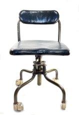 """画像4: Early-1930's   ★Sturgis Posture Chair Co.★   """"Machine age"""" Swivel Desk Chair   【超!! Mint Condition 】 (4)"""