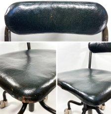"""画像15: Early-1930's   ★Sturgis Posture Chair Co.★   """"Machine age"""" Swivel Desk Chair   【超!! Mint Condition 】 (15)"""