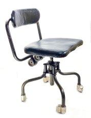 """画像2: Early-1930's   ★Sturgis Posture Chair Co.★   """"Machine age"""" Swivel Desk Chair   【超!! Mint Condition 】 (2)"""