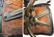 """画像20: Early-1930's   ★Sturgis Posture Chair Co.★   """"Machine age"""" Swivel Desk Chair   【超!! Mint Condition 】 (20)"""