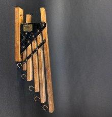 """画像2: 1920-30's """"Holds more Hanger"""" Wood&STEEL Folding Hanger (2)"""