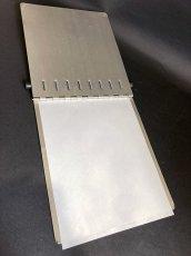 """画像7: 1940's """"Machine Age"""" Aluminum Riveted BINDER  【DASHMETAL PRODUCTS CO.  BROOKLYN  N.Y. 】 (7)"""