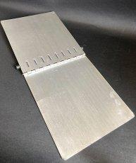 """画像6: 1940's """"Machine Age"""" Aluminum Riveted BINDER  【DASHMETAL PRODUCTS CO.  BROOKLYN  N.Y. 】 (6)"""