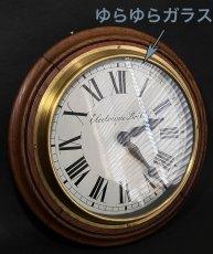 画像2: 1890-1910's ★BRILLIE★ French Wooden Wall Clock (2)