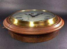 画像8: 1890-1910's ★BRILLIE★ French Wooden Wall Clock (8)