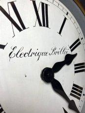 画像6: 1890-1910's ★BRILLIE★ French Wooden Wall Clock (6)