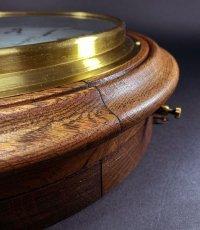 画像13: 1890-1910's ★BRILLIE★ French Wooden Wall Clock (13)