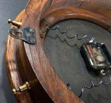 画像12: 1890-1910's ★BRILLIE★ French Wooden Wall Clock (12)