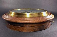 画像10: 1890-1910's ★BRILLIE★ French Wooden Wall Clock (10)