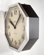 画像13: 1930's ★BRILLIE★  French Octagon Wall Clock  【Mint Condition】 (13)