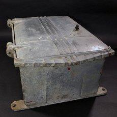 """画像14: 1930-50's """"CEECO""""  Cast Aluminum Railway Telephone Callbox  【ちょ〜特大です。】 (14)"""