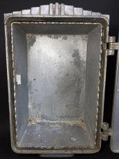 """画像8: 1930-50's """"CEECO""""  Cast Aluminum Railway Telephone Callbox  【ちょ〜特大です。】 (8)"""
