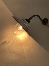 """画像3: 1930's German Deco """"Swan Neck"""" Outside Light  【E26電球仕様】 (3)"""