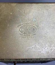 "画像4: 1920-30's ""CORBIN LOCK CO."" Brass Wall Mount Mail Box (4)"
