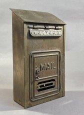 "画像2: 1920-30's ""CORBIN LOCK CO."" Brass Wall Mount Mail Box (2)"