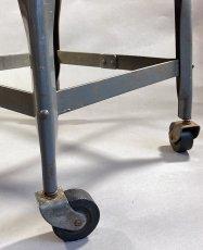 画像5: 1940-50's Rolling Metal Stool  ★Toledo Metal Furniture Co.★ (5)
