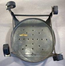 画像6: 1940-50's Rolling Metal Stool  ★Toledo Metal Furniture Co.★ (6)