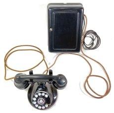 画像5: - 実働品 - 1920's 【Western Electric】Telephone with Ringer Box (5)