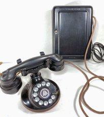 画像3: - 実働品 - 1920's 【Western Electric】Telephone with Ringer Box (3)