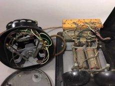 画像19: - 実働品 - 1920's 【Western Electric】Telephone with Ringer Box (19)