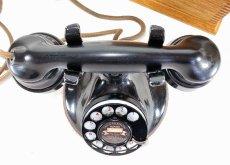 画像7: - 実働品 - 1920's ★Western Electric★ Telephone  with Wood Ringer Box (7)