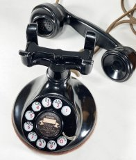 画像8: - 実働品 - 1920's ★Western Electric★ Telephone  with Wood Ringer Box (8)