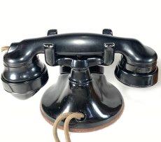 画像17: - 実働品 - 1920's ★Western Electric★ Telephone  with Wood Ringer Box (17)