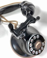 画像9: - 実働品 - 1920's ★Western Electric★ Telephone  with Wood Ringer Box (9)