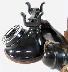 画像15: - 実働品 - 1920's ★Western Electric★ Telephone  with Wood Ringer Box (15)