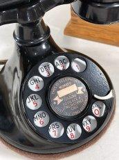 画像10: - 実働品 - 1920's ★Western Electric★ Telephone  with Wood Ringer Box (10)