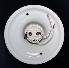 画像8: 1930-40's Art Deco Porcelain Bare Bulb Light (8)