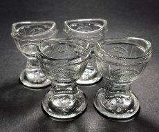 "画像2: 1930's ""め"" Eye Wash Glass Cup  【*残り3個*】 (2)"