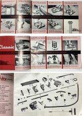 """画像17: 1960 - Early 1970's  KIRBY """"STREAMLINE"""" Vacuum Cleaner 【フルオリジナル + 別売りアタッチメント付き】 (17)"""