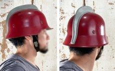 """画像8: """"Knight""""  Late 1960's-Eary 1970's German Fireman Helmet (8)"""