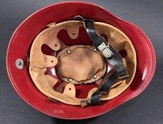 """画像9: """"Knight""""  Late 1960's-Eary 1970's German Fireman Helmet (9)"""