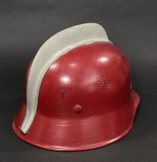 """画像7: """"Knight""""  Late 1960's-Eary 1970's German Fireman Helmet (7)"""