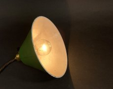 """画像7: 1940-50's """"Enamel Shade"""" Pendant Lamp (7)"""