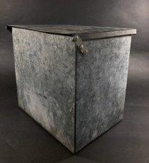 """画像6: 1940's """"Renken's"""" Galvanized Milk Delivery Cooler Box (6)"""