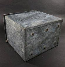 """画像9: 1940's """"Renken's"""" Galvanized Milk Delivery Cooler Box (9)"""