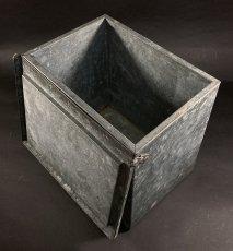 """画像7: 1940's """"Renken's"""" Galvanized Milk Delivery Cooler Box (7)"""