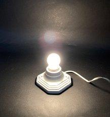 画像6: 1930-40's Art Deco Porcelain Bare Bulb Light (6)